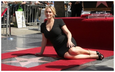 Kate Winslet at the Hollywood Walk of Fame