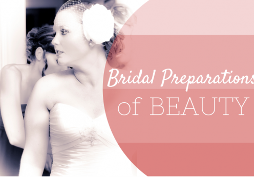 bridal preparations of beauty