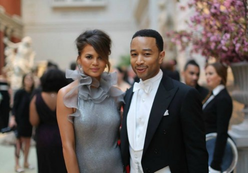 Chrissy Teigen and John Legend. IMAGE BY: BRANDON STANTON http://www.humansofnewyork.com/