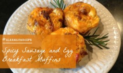 Spicy Sausage and Egg Breakfast Muffins Recipe