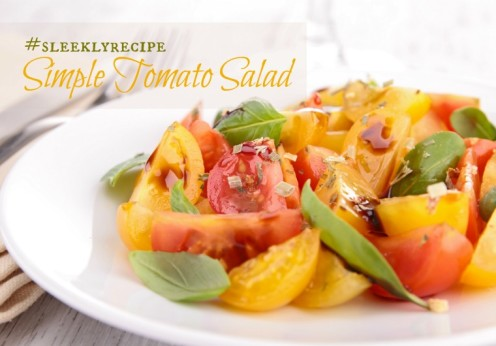 simple tomato salad recipe