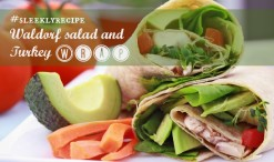 waldorf salad and turkey wrap recipe
