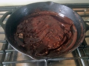picture of brownie batter
