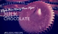 Sugar Free, Dairy Free, Vegan Milk Chocolate Recipe