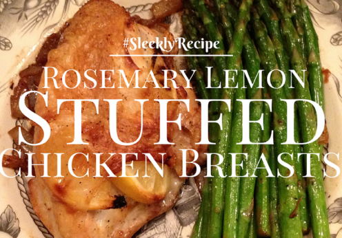 Rosemary Lemon Stuffed Chicken Breasts