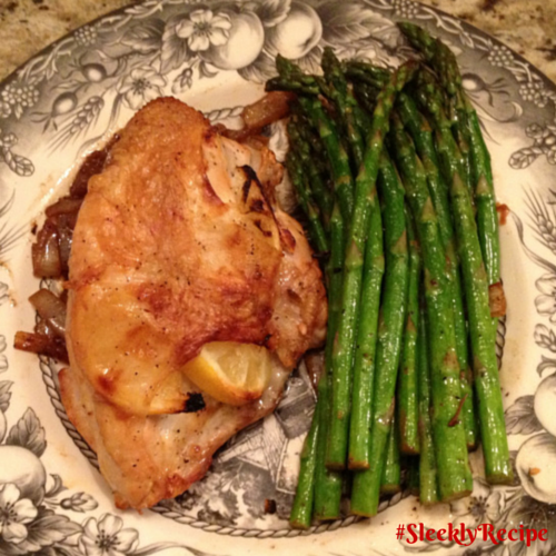 Rosemary Lemon Stuffed Chicken
