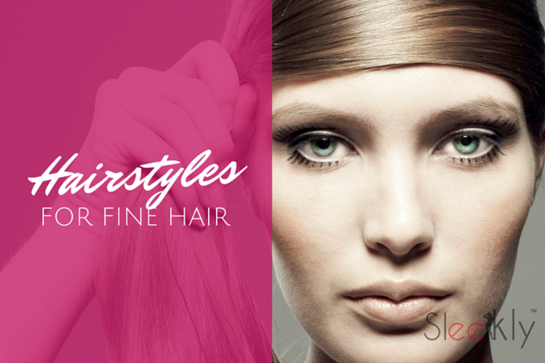 Hairstyles - Fine Hair