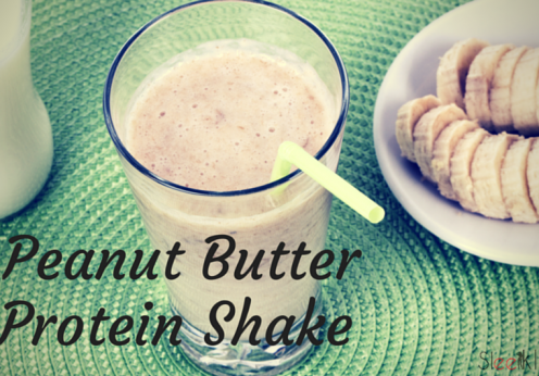 peanut-butter protein shake