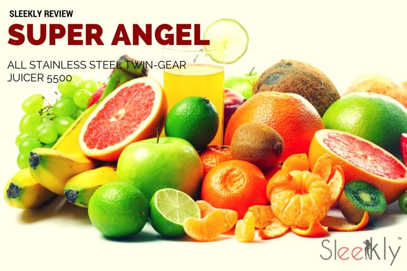 Super Angel Juicer ~ Super angel all stainless steel twin gear juicer