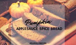 Pumpkin Applesauce Spice Bread recipe