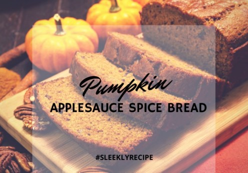 Pumpkin Applesauce Spice Bread recipe