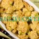 roasted garlic cheesy cauliflower