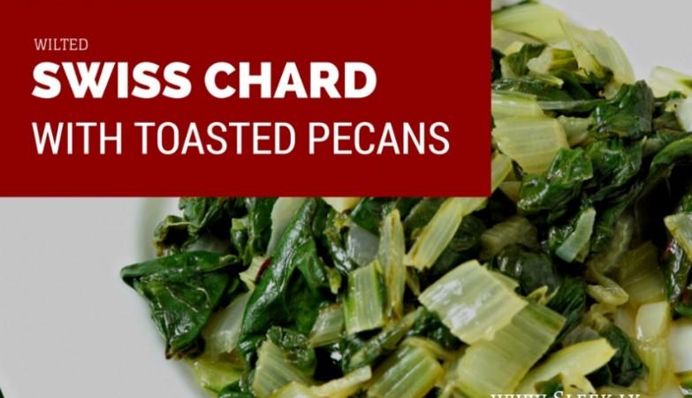 wilted swiss chard recipe