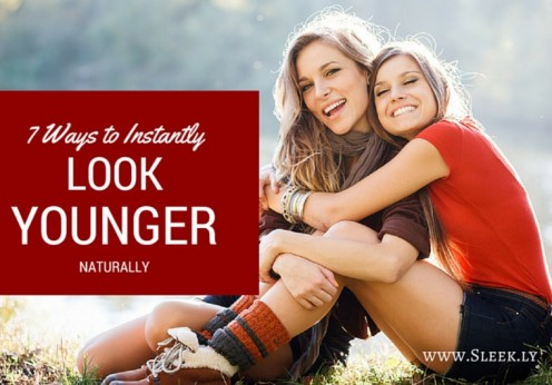 ways to look younger naturally