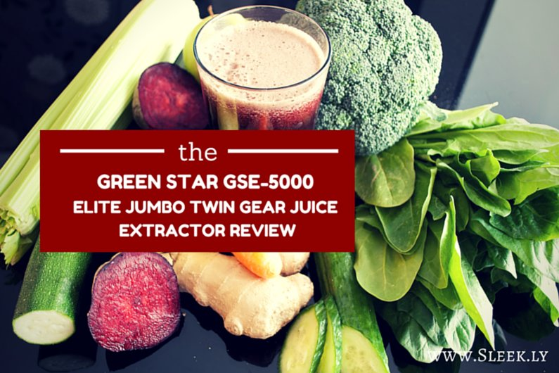 the green star gse 5000 juicer