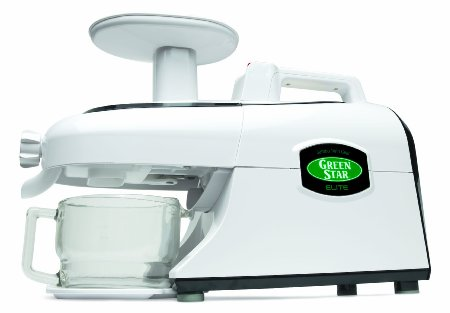 Green Star GSE-5000 Elite Jumbo Twin Gear Juice Extractor