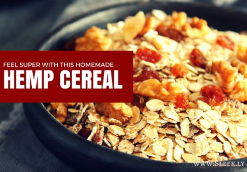 homemade hemp cereal recipe