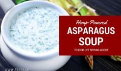 Hemp-Powered Asparagus Soup