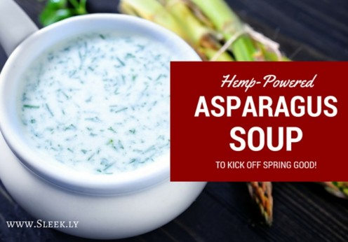 Hemp-Powered Asparagus Soup