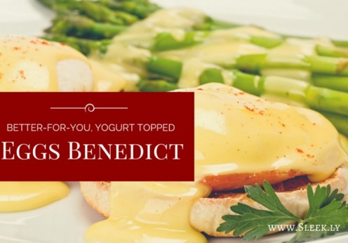 Yogurt Topped Eggs Benedict