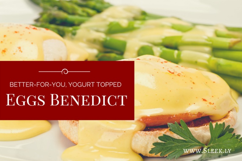 Yogurt Topped Eggs Benedict