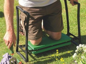 Gardman R616 Fold Away Garden Kneeler and Seat