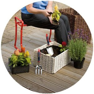 Spear & Jackson Garden Kneeler and Seat