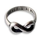 Akeisha Infinity Ring
