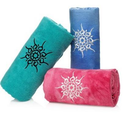 namaste yoga towel